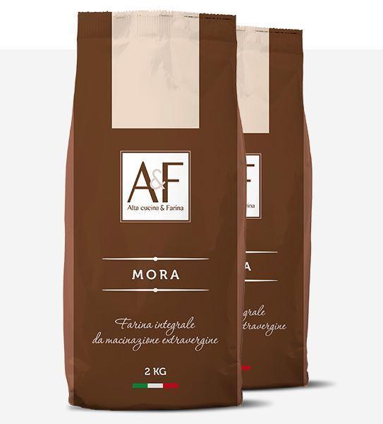 Immagine di Mora  Box 2 sacchetti di Farina